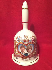 Prince Charles & Lady Diana Commemorative Wedding Bell, 29th July 1981