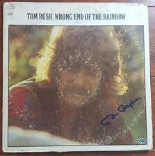 """""""No Regrets"""" Tom Rush Hand Signed Album Cover PAAS COA"""