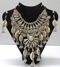 VINTAGE STYLE ARTISAN HANDCRAFTED NECKLACE KUCHI TRIBAL BELLY DANCE GYPSY NEW