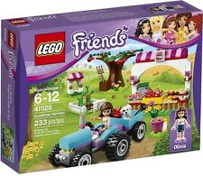 Lego Friends 41026 Sunshine Harvest Olivia Puppy Tractor Minifigs Nisb Xmas Gift