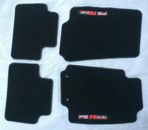 Set of four - Ford BA BF FPV F6 Typhoon R-spec floor mats - reproduction