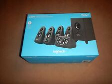 BRAND New - Logitech Z506 150W Surround Sound 5.1 Home Theater Speakers Black
