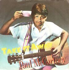 7inch PAUL McCARTNEYtake it awayHOLLAND EX (S2869)