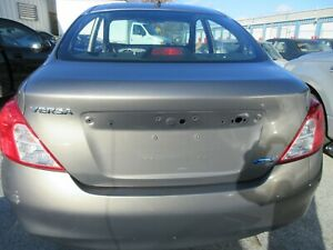 2012-2019 Nissan Versa Sedan Silver Gray Grey Trunk Deck Lid ***NO SHIPPING***