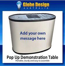 Demonstration Sampling Exhibition Table Pop Up shop Promotional Table