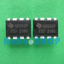 10pcs NE555P NE555 555 Timers  DIP-8 TI Brand New