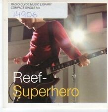 (BK928) Reef, Superhero - 2000 DJ CD