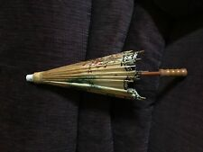 Small Chinese/Japanese Bamboo Parasol Geisha Umbrella
