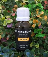 Vetiver Essential Oil 100% Pure & Natural essential oils undiluted & uncut