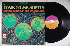 JIMMY JAMES & VAGABONDS Come To Me Softly LP ATCO Orig. 2-TONE Labels ORG SLEEVE