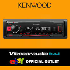 Kenwood KMM-203 4x50W Car Stereo Tuner Radio Receiver MP3 USB FLAC iPod Android