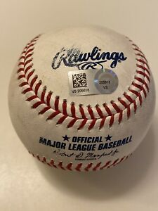 MLB Authenticated - Brandon Nimmo 11th-Inning SINGLE to Tyler Naquin off Garcia
