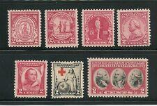 USA 1930-1931 2 YEAR-SET  SC# 682 / 703 VINTAGE POSTAGE STAMP MNH