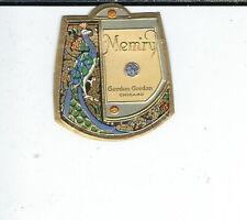 AV-035 - Vintage Mem'ry by Gordon Gordon Perfume Bottle Label Chicago 1920's
