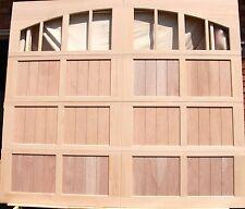 9x8 Wood Overhead Carriage House Garage Door, Amana Doors Model 103Nw8A