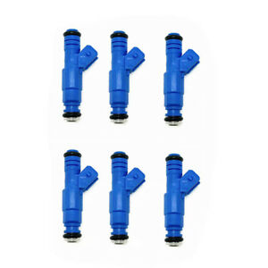 6pcs Fuel Injector 0280150158 for Porsche 911 924 944 2.5L 3.2L Flow Matched