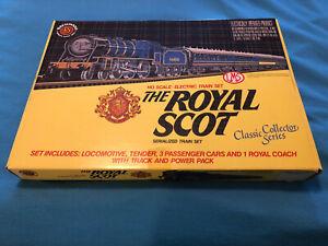 Rare Vintage Royal Scot Serialized HO/H0 Scale Train Set Still Sealed Mint!!!
