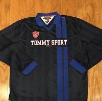 Good Vintage Tommy Hilfiger Tommy Sport Long Sleeve Rugby Jersey sz 2XL