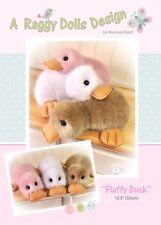 FLUFFY DUCK - Sewing Craft PATTERN - Ducks Duckling Easter Chicks
