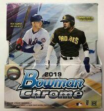 2019 Bowman Chrome Baseball Factory Sealed HOBBY Box - 2 AUTOS per Box