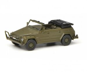 "Schuco 452642900 VW Type 181 Bucket Car "" German Military "", 1:87"