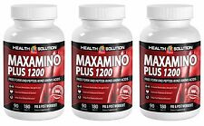 Body Building Supplements - MAXAMINO PLUS 1200 - Recover Faster 3B