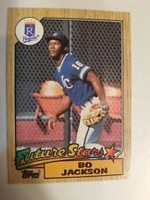 1987 Topps #170 Bo Jackson Future Stars - Kansas City Royals