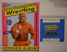 Euroflash Yoyo WCW World Championship Wrestling / Sticker Album komplett 1992