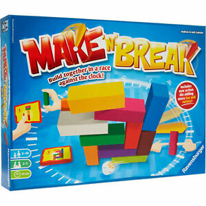 Ravensburger Make 'N' Break Building Game | Race Against the Clock New & Sealed