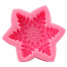 3D Big Snowflake Silicone Soap mold Craft Molds DIY Handmade Candle mould New