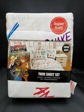 NEW Marvel Rising Secret Warriors Superheroes 3 Piece Twin Sheet Bedding Set
