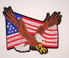 PATCH  ÉCUSSON THERMOCOLLANT BIKER  AIGLE USA MOTO HARLEY COUNTRY COW BOY