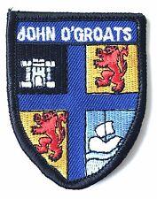 John O`Groats Scotland Embroidered Patch (AO63B)