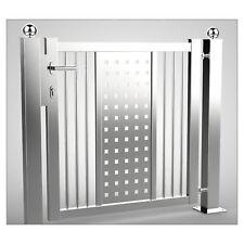 EDS 012b - EDELSTAHL-Pforte, Tür, Zaun, Gartentor, Eisentor, Tor