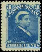 Newfoundland #49 mint VG NG 1896 Queen Victoria 3c blue CV$12.50