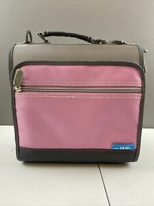 Nyko Wii Travel Carry Bag/Case for Wii System, Controller and Accessories Pink!