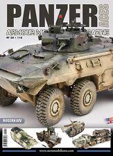 Accion Press: Panzer Aces #54 Special Issue Modern AFVs #PANZ54