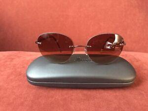 Silhouette Sonnenbrille 6695 40 6055, gepflegt, 100% UV, Braun Verlauf, unisex