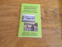 Arizona Boating Guide Arizona Game & Fish Circa 1999 Free Domestic Shipping