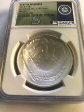 2014 Baseball HOF HALL FAME Proof Silver $1  NGC MS70  Seattle Mariners