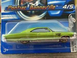 HOT WHEELS VHTF PONTIAC BONNEVILLE WITH FASTER THAN EVER WHEELS