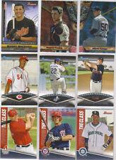 2011 Bowman (28) insert card Lot W/Bowmans Brightest,B.Best,Finest Futures