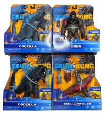 Brand New Godzilla Vs. Kong MonsterVerse Action Figures Lot Of 4 Skullcrawler