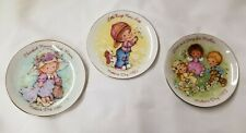"""3 Small Avon 5"""" Mothers Day plates 1981 1982 1983"""