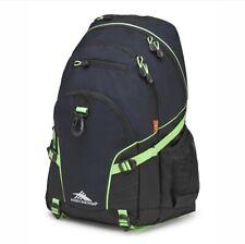 High Sierra - Loop Backpack - Midnight Blue/Lime/Black