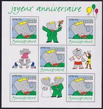2003 FRANCE BLOC N°100** BF Bandes dessinées BABAR, 2003 France sheet MNH