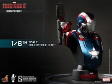 IRON MAN IRON PATRIOT COLL BUST HOT TOYS BUSTO