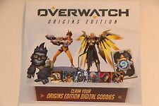 Overwatch ORIGINS EDITION GOODIES DLC PC XBOX ONE PS4
