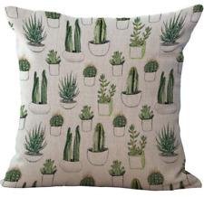 CACTUS PIANTE DECORAZIONE ALOE pianta grassa cactus Copricuscino Giorno dopo nel Regno Unito