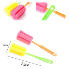 New Cup Pot Cleaning Baby Milk Feeding Bottle Clean Sponge Brush Kitchen Tool